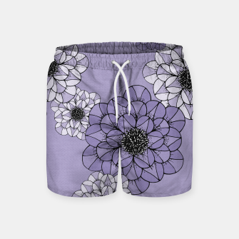 Thumbnail image of Abstract Flowers Swim Shorts, Live Heroes