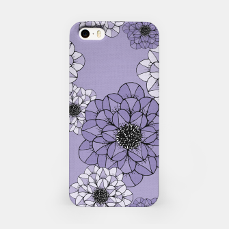 Thumbnail image of Abstract Flowers iPhone Case, Live Heroes