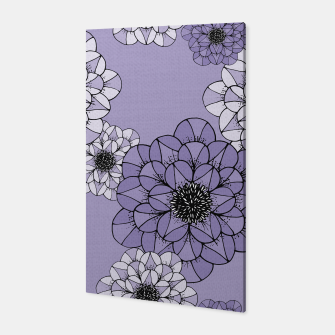 Thumbnail image of Abstract Flowers Canvas, Live Heroes