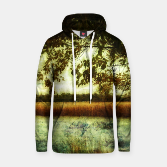Thumbnail image of Reading By The Marsh Cotton hoodie, Live Heroes