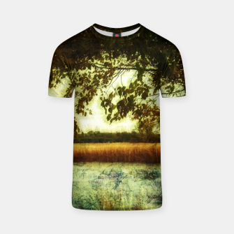 Thumbnail image of Reading By The Marsh T-shirt, Live Heroes