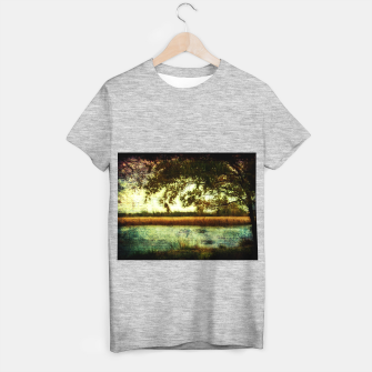 Thumbnail image of Reading By The Marsh T-shirt regular, Live Heroes
