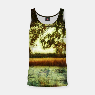 Thumbnail image of Reading By The Marsh Tank Top, Live Heroes