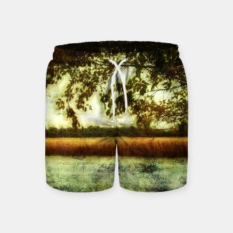 Thumbnail image of Reading By The Marsh Swim Shorts, Live Heroes
