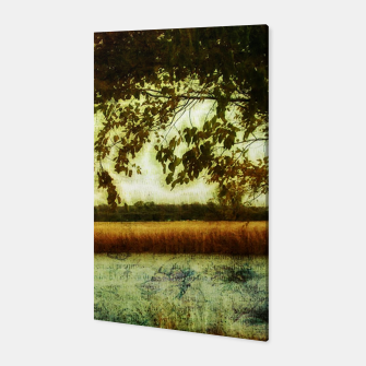 Thumbnail image of Reading By The Marsh Canvas, Live Heroes