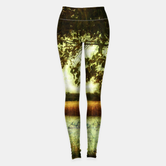 Thumbnail image of Reading By The Marsh Leggings, Live Heroes