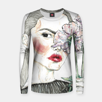Miniaturka Sophia Roe __ Fashion Illustration Woman cotton sweater, Live Heroes
