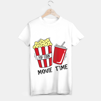 Thumbnail image of Movie time Camiseta Regular, Live Heroes