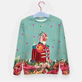 Miniatur You are my king Kid's sweater, Live Heroes