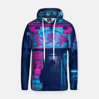 Thumbnail image of Neon City Cotton hoodie, Live Heroes