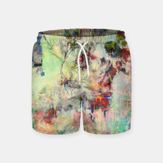 Thumbnail image of Summer Rendevous Swim Shorts, Live Heroes