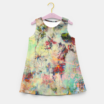 Miniaturka Summer Rendevous Girl's summer dress, Live Heroes