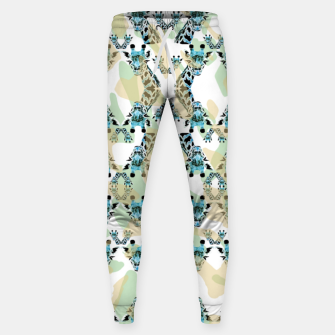 Miniatur Giraffes Cotton sweatpants, Live Heroes