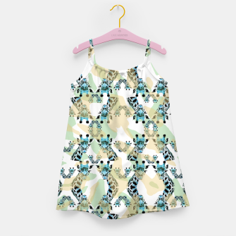 Miniatur Giraffes Girl's dress, Live Heroes