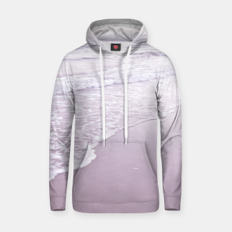 Thumbnail image of Happiness in waves Cotton hoodie, Live Heroes