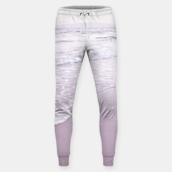 Thumbnail image of Happiness in waves Cotton sweatpants, Live Heroes