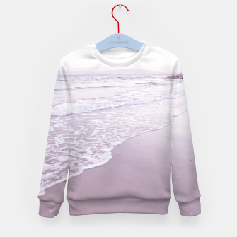 Thumbnail image of Happiness in waves Kid's sweater, Live Heroes