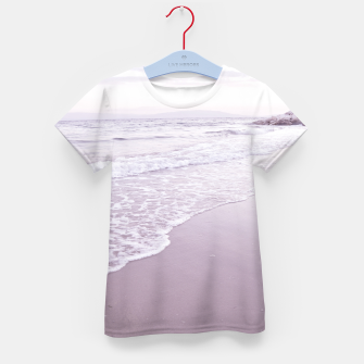 Thumbnail image of Happiness in waves Kid's t-shirt, Live Heroes