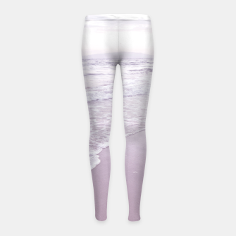 Thumbnail image of Happiness in waves Girl's leggings, Live Heroes