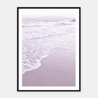 Thumbnail image of Happiness in waves Framed poster, Live Heroes