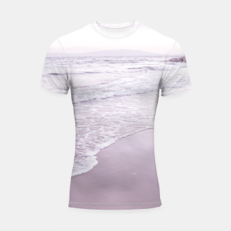 Thumbnail image of Happiness in waves Shortsleeve rashguard, Live Heroes