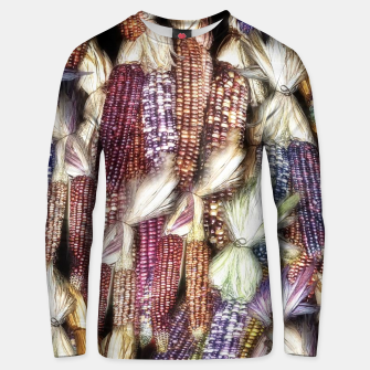 Thumbnail image of Fall Harvest Corn Cotton sweater, Live Heroes