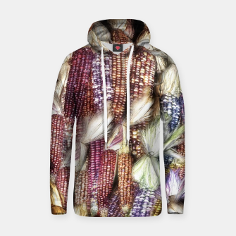 Thumbnail image of Fall Harvest Corn Cotton hoodie, Live Heroes