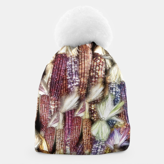 Thumbnail image of Fall Harvest Corn Beanie, Live Heroes