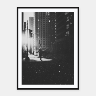 Thumbnail image of Everyday Framed poster, Live Heroes
