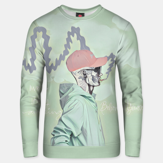 Thumbnail image of Chill and smoke  Cotton sweater, Live Heroes