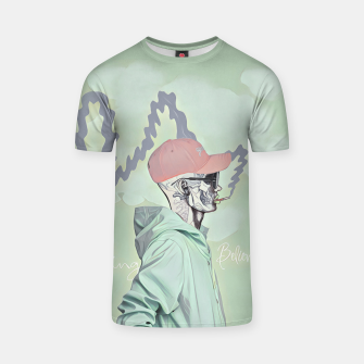Miniature de image de Chill and smoke  T-shirt, Live Heroes