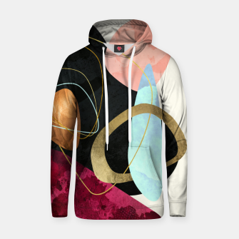 Thumbnail image of Abstract Pebbles II Cotton hoodie, Live Heroes