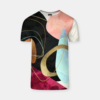 Thumbnail image of Abstract Pebbles II T-shirt, Live Heroes
