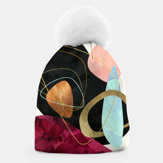 Thumbnail image of Abstract Pebbles II Beanie, Live Heroes