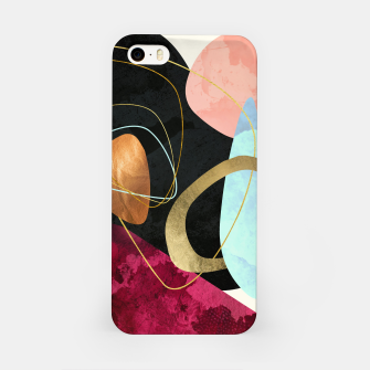 Thumbnail image of Abstract Pebbles II iPhone Case, Live Heroes