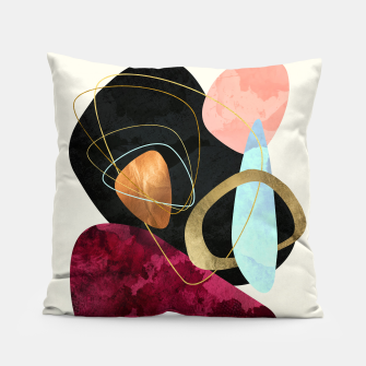 Thumbnail image of Abstract Pebbles II Pillow, Live Heroes