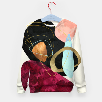 Thumbnail image of Abstract Pebbles II Kid's sweater, Live Heroes
