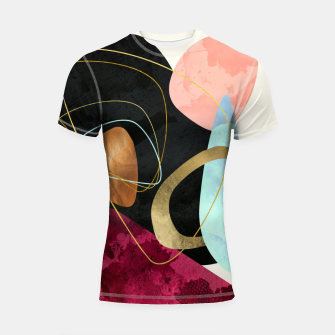 Thumbnail image of Abstract Pebbles II Shortsleeve rashguard, Live Heroes