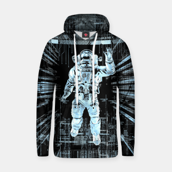 Data Horizon Astronaut Cotton hoodie thumbnail image