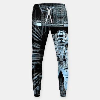 Thumbnail image of Data Horizon Astronaut Cotton sweatpants, Live Heroes