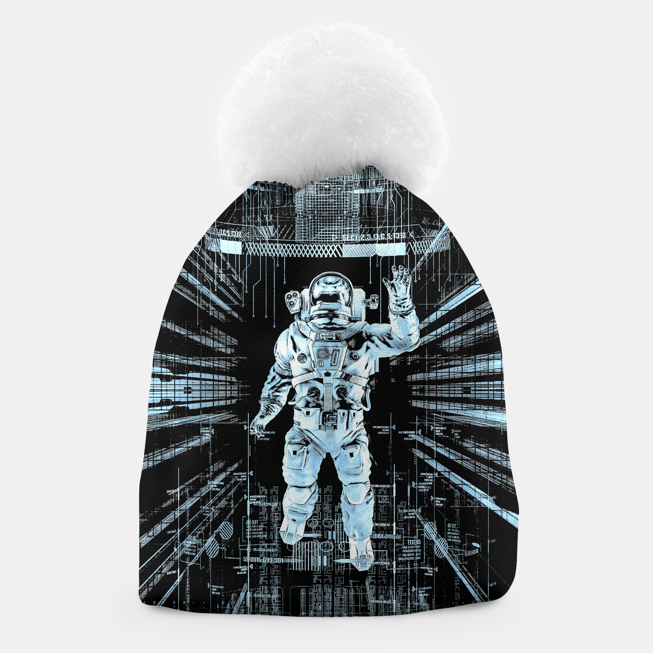 Image of Data Horizon Astronaut Beanie - Live Heroes