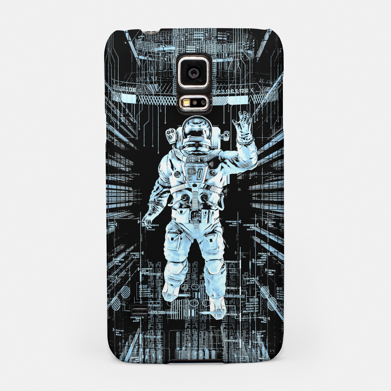 Image of Data Horizon Astronaut Samsung Case - Live Heroes