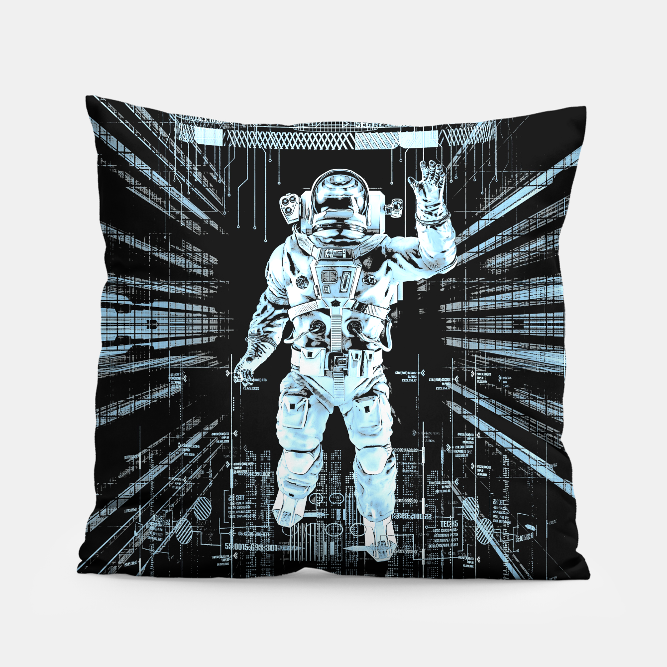 Image of Data Horizon Astronaut Pillow - Live Heroes