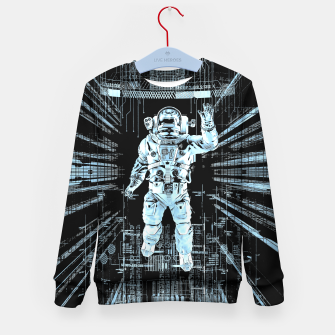 Thumbnail image of Data Horizon Astronaut Kid's sweater, Live Heroes