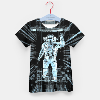 Data Horizon Astronaut Kid's t-shirt thumbnail image