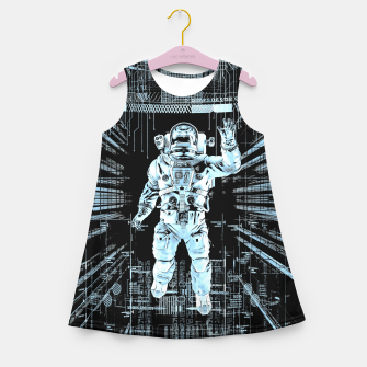 Data Horizon Astronaut Girl's summer dress thumbnail image