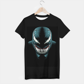 Miniatur Shadow Face Camiseta Regular, Live Heroes