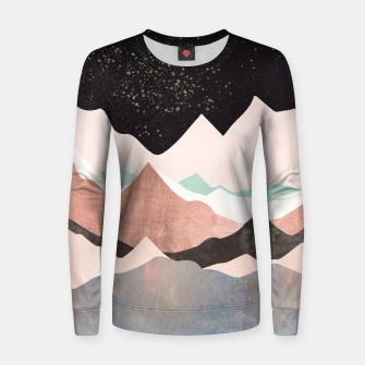 Thumbnail image of Midnight Stars Woman cotton sweater, Live Heroes