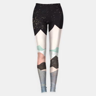 Thumbnail image of Midnight Stars Leggings, Live Heroes