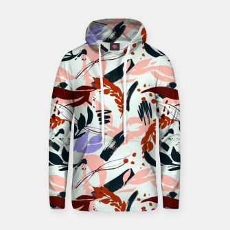 Thumbnail image of Modern abstract nature I Sudadera con capucha de algodón, Live Heroes